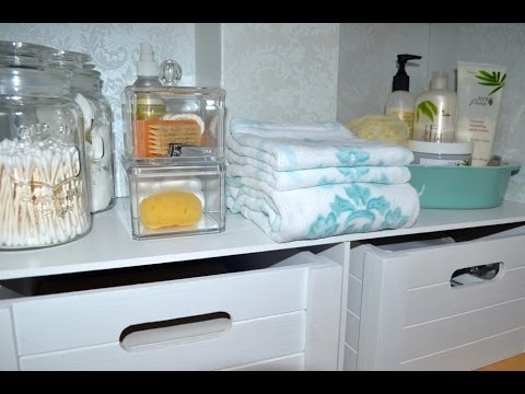 Bathroom Organization Under The Sink