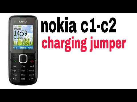 Nokia c1 charging solution.nokia c1 charging jumper solution.