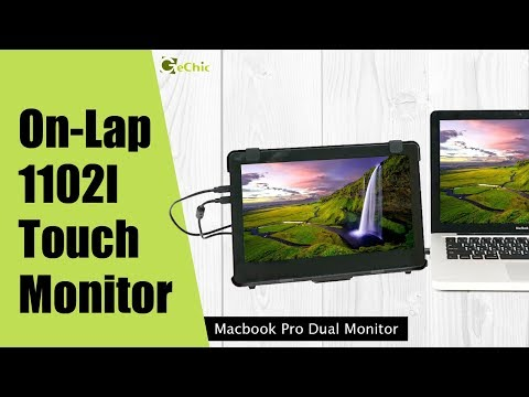 OnLap1102I Portable Touch Monitor- video | Gechic