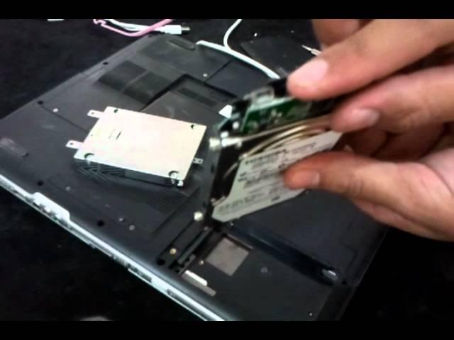 طريقة إستخراج هاردسك اللاب توب وتشغيله على جهاز آخر Youtube