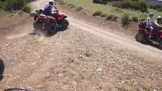 Quad Bikes Cyprus Akamas Off Road Trip 28.4.2013