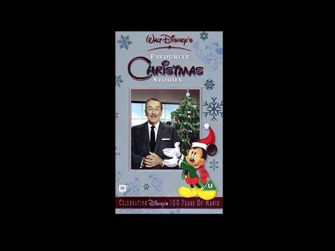 Walt Disney's Favourite Christmas Stories  Full tape UK VHS