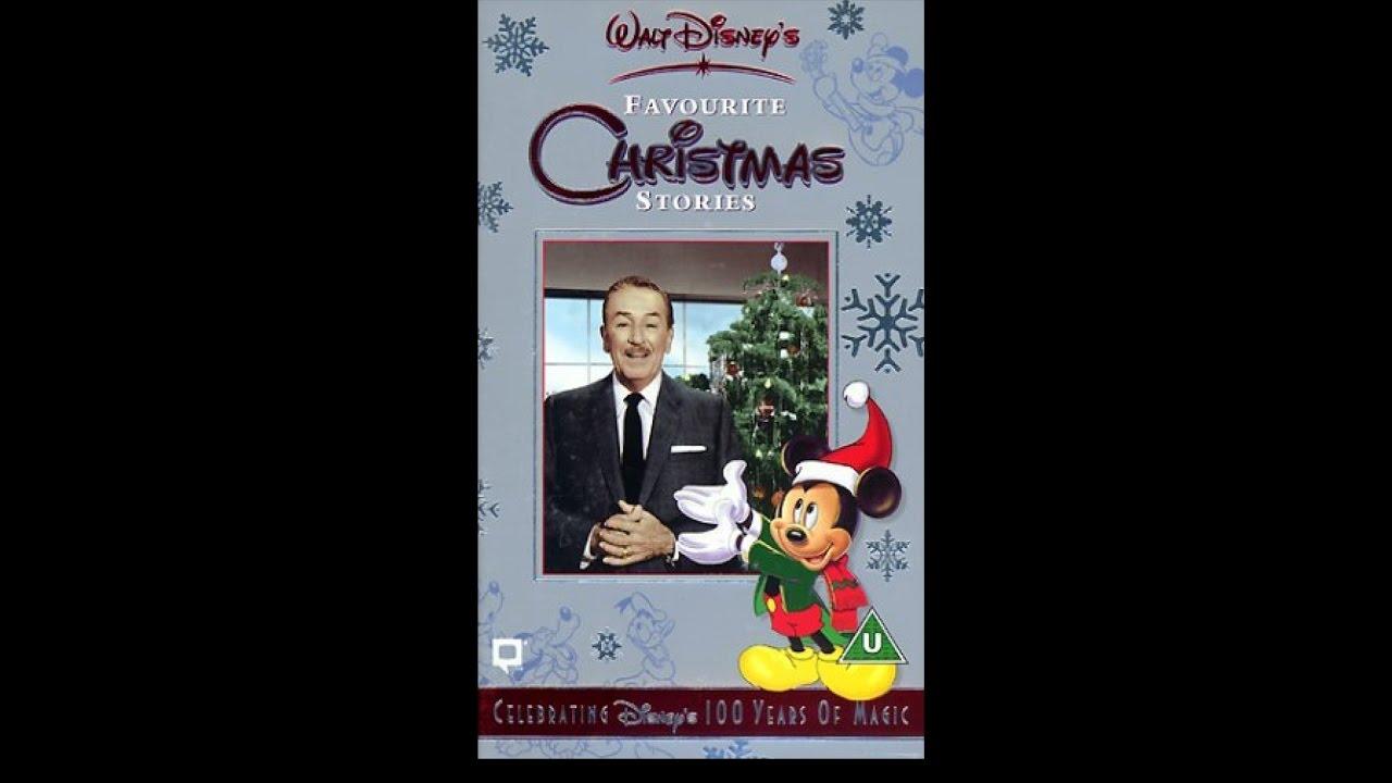 Walt Disney Christmas Vhs.Walt Disney S Favourite Christmas Stories Full Tape Uk Vhs