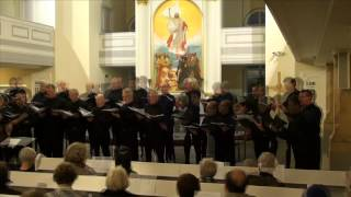 The Imperial Male Voice Choir - excerpts from their concert in St Petersburg, Russia