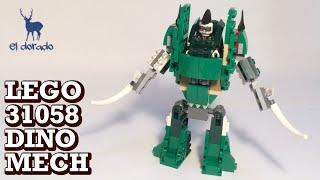 LEGO CREATOR 31058 Mighty Dinosaurs Alternate Build - Dino Mech - Speed Build - Construction Toy
