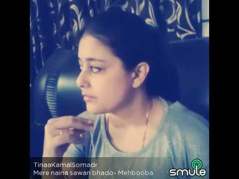 Mere Naina sawan bhado ( Mehbooba ) tina kamal