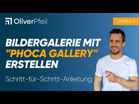 """Joomla Bildergalerie Mit """"Phoca Gallery"""" Erstellen (für Joomla 3.x)"""