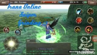 Iruna online - Sniper Grind