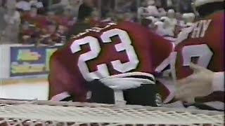 Bob Probert vs Jeremy Roenick & Darren McCarty vs Neil Wilkinson