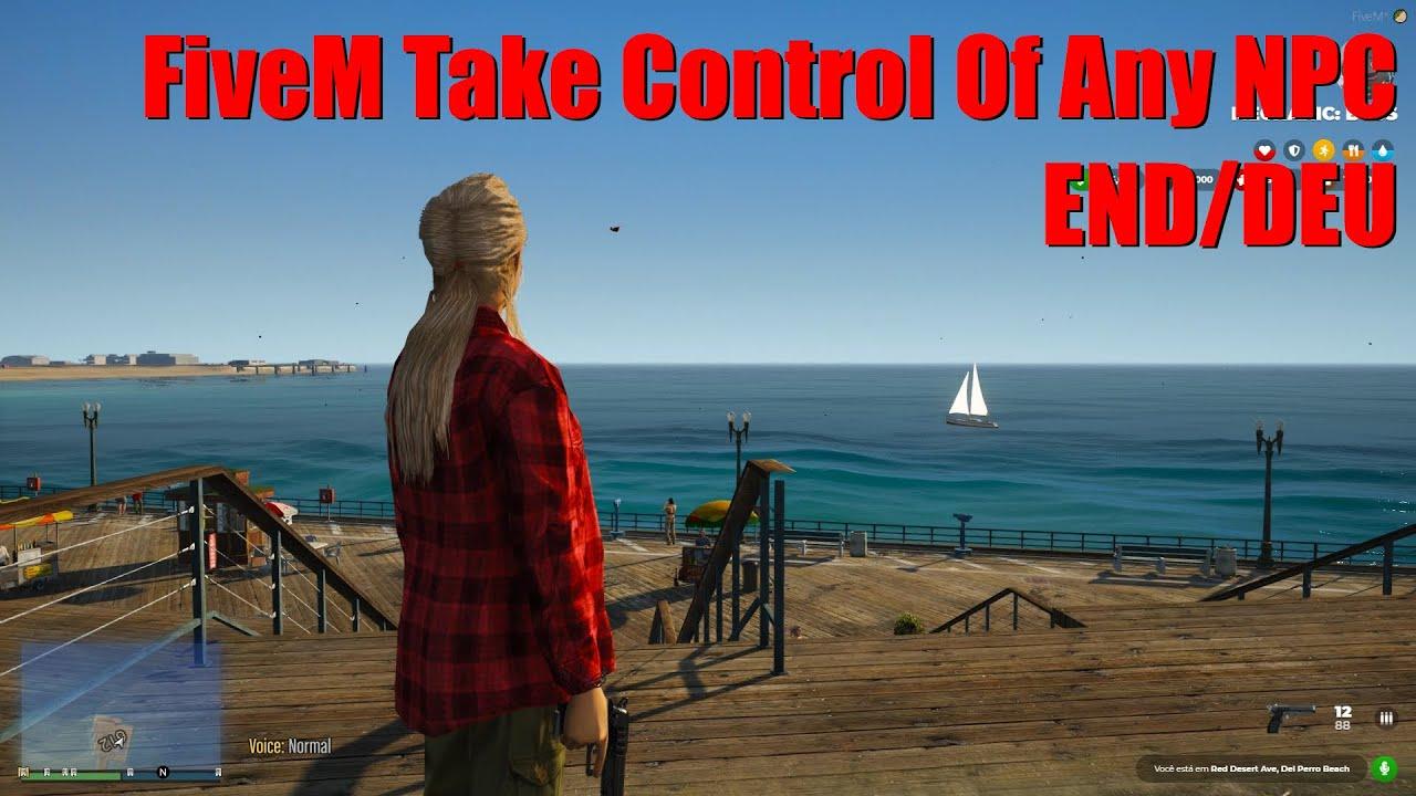 FiveM Take Control Of Any NPC ENG/DEU