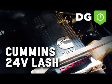 Cummins 24v Valve Lash Adjustment Tips