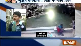 Caught On Camera: Brave Boy Fights with Dog to Save his Sister - India TV