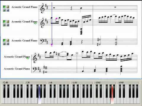 Passion (Beethoven Virus OST) ~ Music Piano Sheet