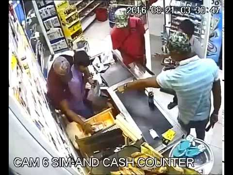 Robbery done in dubai by some Nigerians in a super market