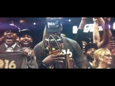 LeBron James 'Witness Greatness' 2016 NBA champion Cleveland Cavaliers