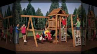 Wooden Outdoor Swing Sets