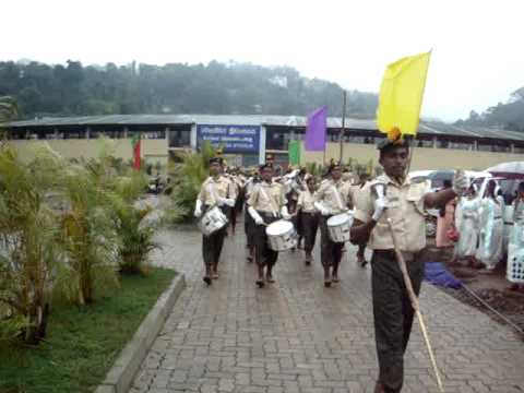 DHARMARAJA COLLEGE WESTERN BAND AT INDIPENDENTSDAY 2011