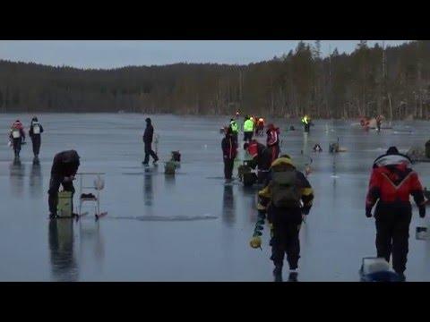Fiskepremiär i Stora svartsjön med Jakt & fiske i Hälsingland år 2015