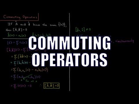 Quantum Chemistry 4.13 - Commuting Operators