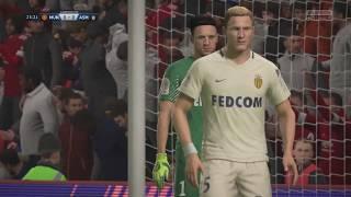 FIFA 18   Man Utd 1 - 1 Monaco   Champions League 2018-2019   Semi Finals 1st Leg   Legendary