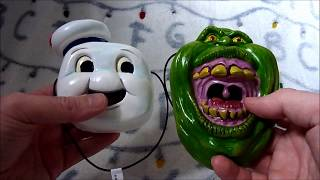 Ghostbusters Mini Masks by Fright Rags Review (Slimer and Stay Puft)