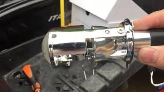 Micro lupas bixenon H4 Video