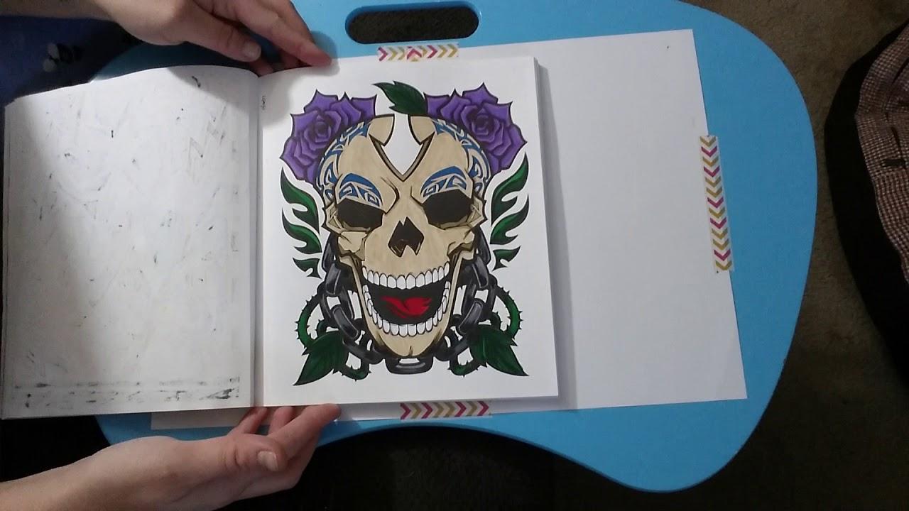 Crayola Art With Edge Graffiti Finished Book Flip Through Youtube