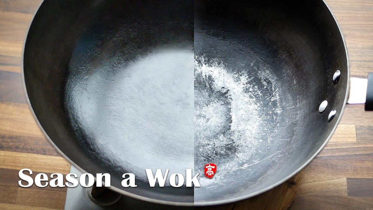 Season a Wok - YouTube