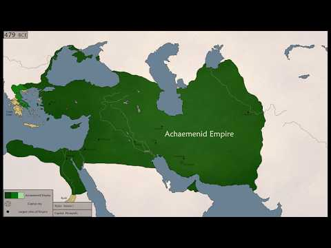 The History of Achaemenid Empire (552-330BC)