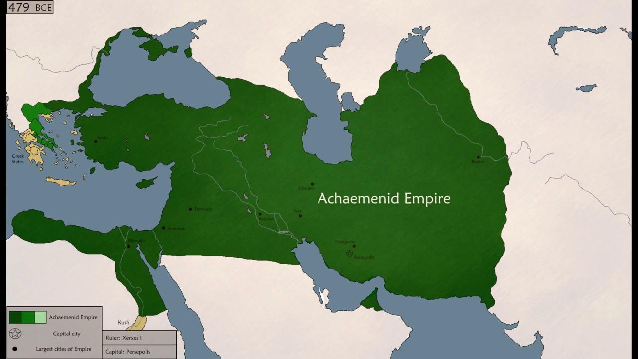 The History Of Achaemenid Empire 552 330bc Youtube