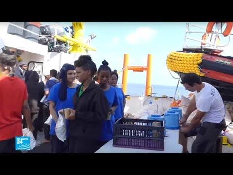 مالطا تفتح موانئها لسفينة -أكواريوس- بعد الاتفاق على توزيع المهاجرين بين دول أوروبية  - 10:22-2018 / 8 / 15
