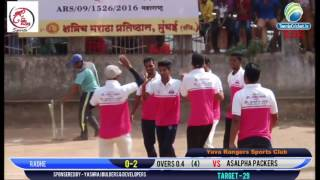 Sagar 5 wickets in 1 over  | Box Cricket Mulund | Yuva Ranger Sports