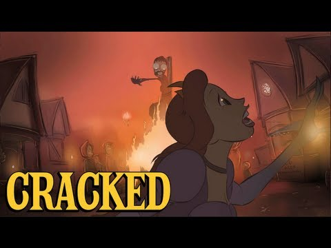 If Disney Cartoons Were Historically Accurate - Disney Musical Parody - With Rachel Bloom
