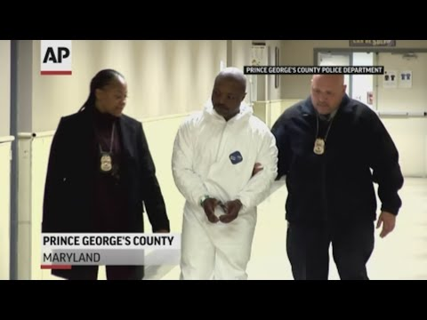 Maryland police arrest FBI most-wanted suspect