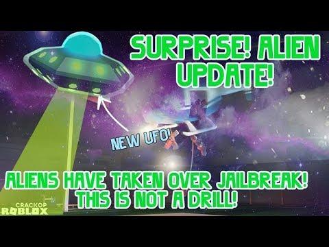 NEW JAILBREAK UPDATE TONIGHT! ALIEN INVASION! (Roblox Jailbreak Secret Update)