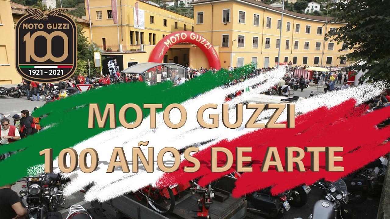 Centenario de Moto Guzzi: 100 años de arte