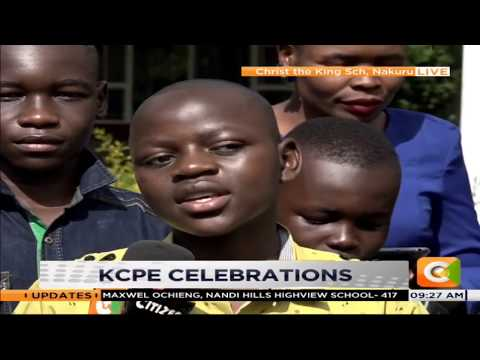 Christ The King School in Nakuru star in KCPE results | DAY BREAK |