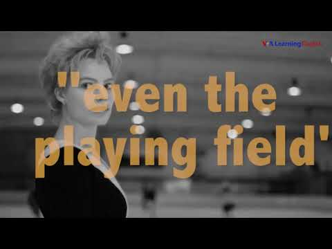 English @ the Movies: 'Even The Playing Field'
