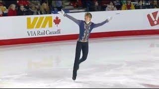 17 Kevin REYNOLDS - Canadian Nationals 2018 - Mens FS