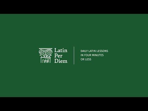 LatinPerDiem Latin Lessons: Erasmus Of Rotterdam, Moriae Encomium 1
