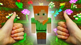 REALISTIC MINECRAFT - ALEX TURNS GOOD!👍