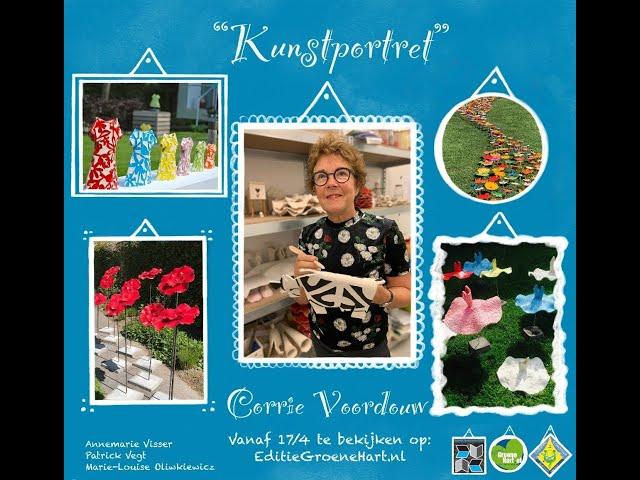 Kunstportret met Corrie Voordouw
