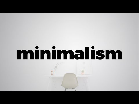 Minimalism is more than just a style.