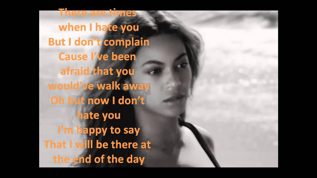 Songtext von Beyoncé - Broken-Hearted Girl Lyrics