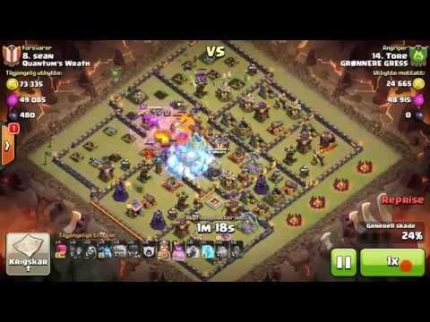 2 star 74%. Tore vs Sean. Cw clash of clans