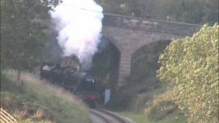 45212 & 825 at Darnholme on the North Yorkshire Moors Railway Thumbnail