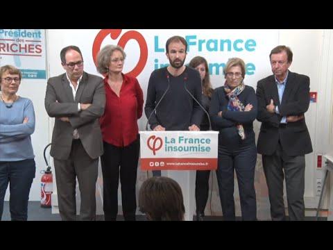 Conférence de presse la France insoumise et APRÉS - #ConfPresseFi