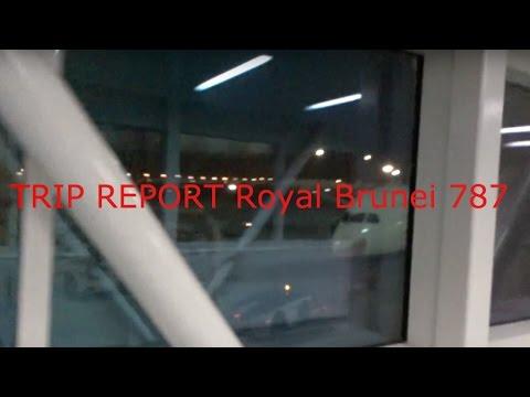TRIP REPORT Royal Brunei 787 DXB to LHR Economy