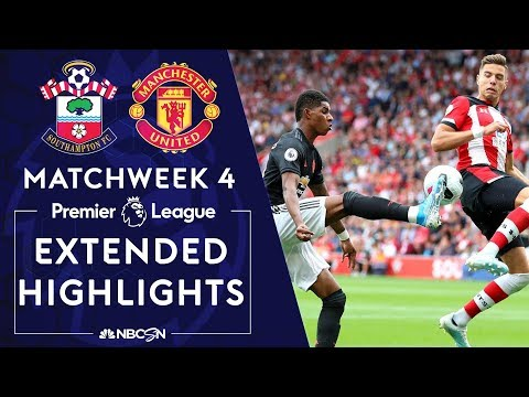 Southampton v. Manchester United | PREMIER LEAGUE HIGHLIGHTS | 8/31/19 | NBC Sports