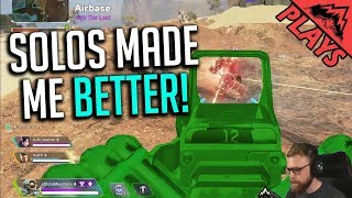 Solo has made me BETTER! - Apex Legends